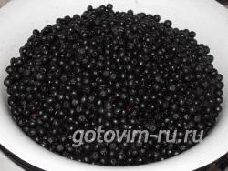 Варенье из черноплод. рябины