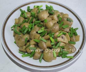 что можно приготовить из грибов шампиньоны рецепты #10