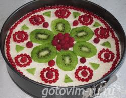 Торт-суфле с вишней
